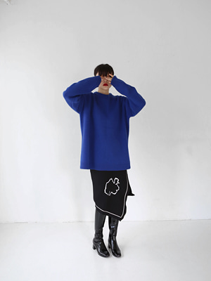 lambswool thick oversize knit(3colours!)