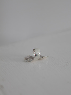 (silver 925)heavy wrap ring