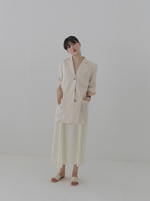 linen summer jacket(2colours!)