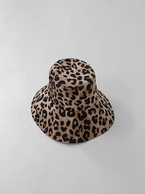 (freckle made♥)leopard big bucket hat