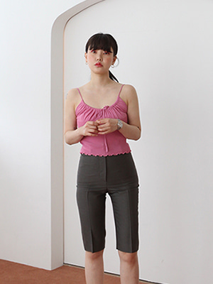 90s knitted cami(5colours!)