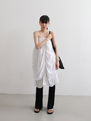 (freckle made♥)drape skirt(3colours!)(화이트 재입고 예정!)