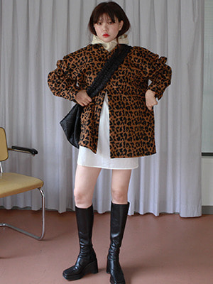 wool leopard shirt