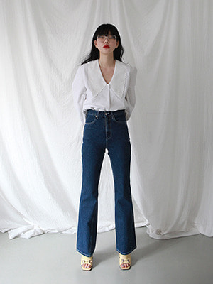(freckle made♥)high waist flared jeans