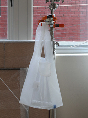 (freckle made♥)organza shopper bag(white!)