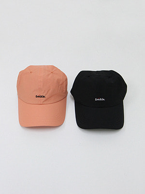 (freckle made♥)freckle cap(salmon,black!)