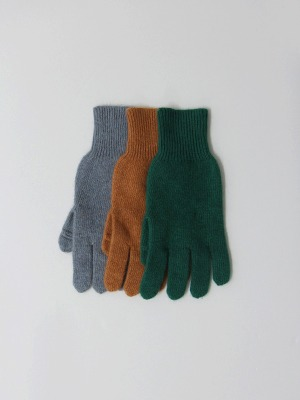 finger cut out gloves(3colours!)
