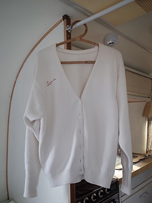 (freckle made♥)classic bulky cardigan(white!)