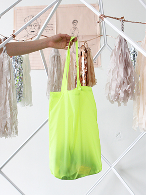 (ONLY FRECKLE)neon colour nylon bag (여름한정!)