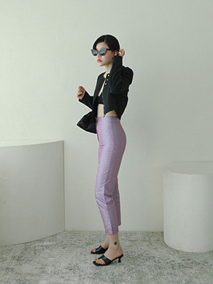 (freckle made♥)pink&purple illusion trousers
