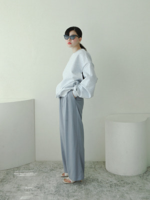light wide leg trousers(3colours!)