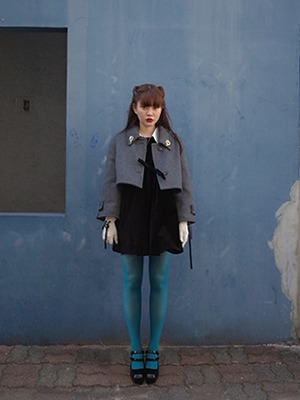 (freckle made♥)oversize 2way wool coat(gray!)