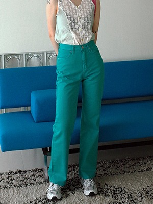straight line pants(green,beige!)