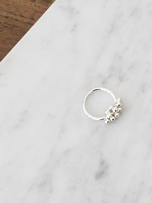 (silver)bubble ring