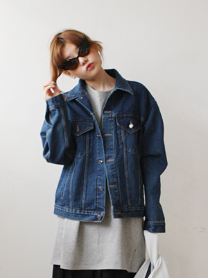 oversized denim jacket(light blue,blue 2colours!)